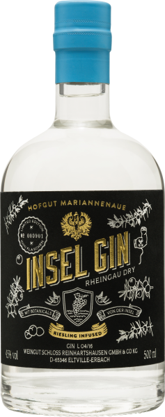 Rheingau Dry Insel Gin - Riesling infused (0,5 l)