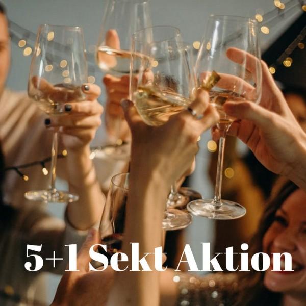 5+1 Sekt Aktion